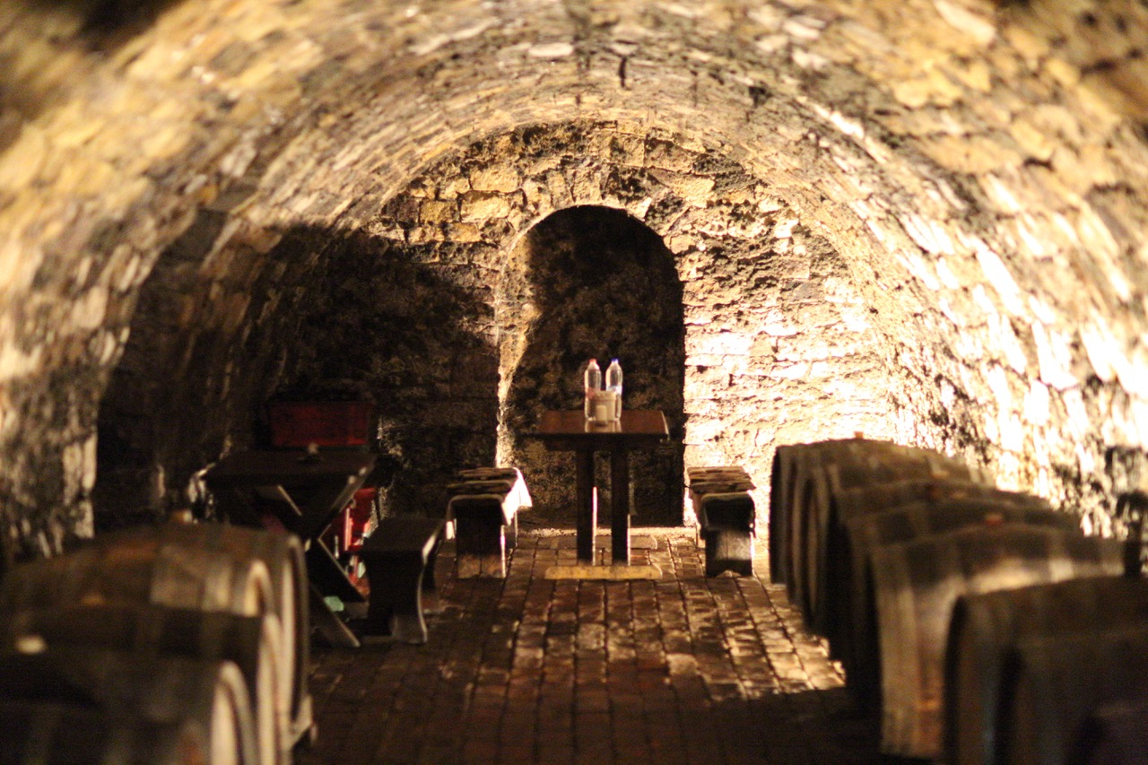 Dorogi Brothers vinkällare med provningsrum