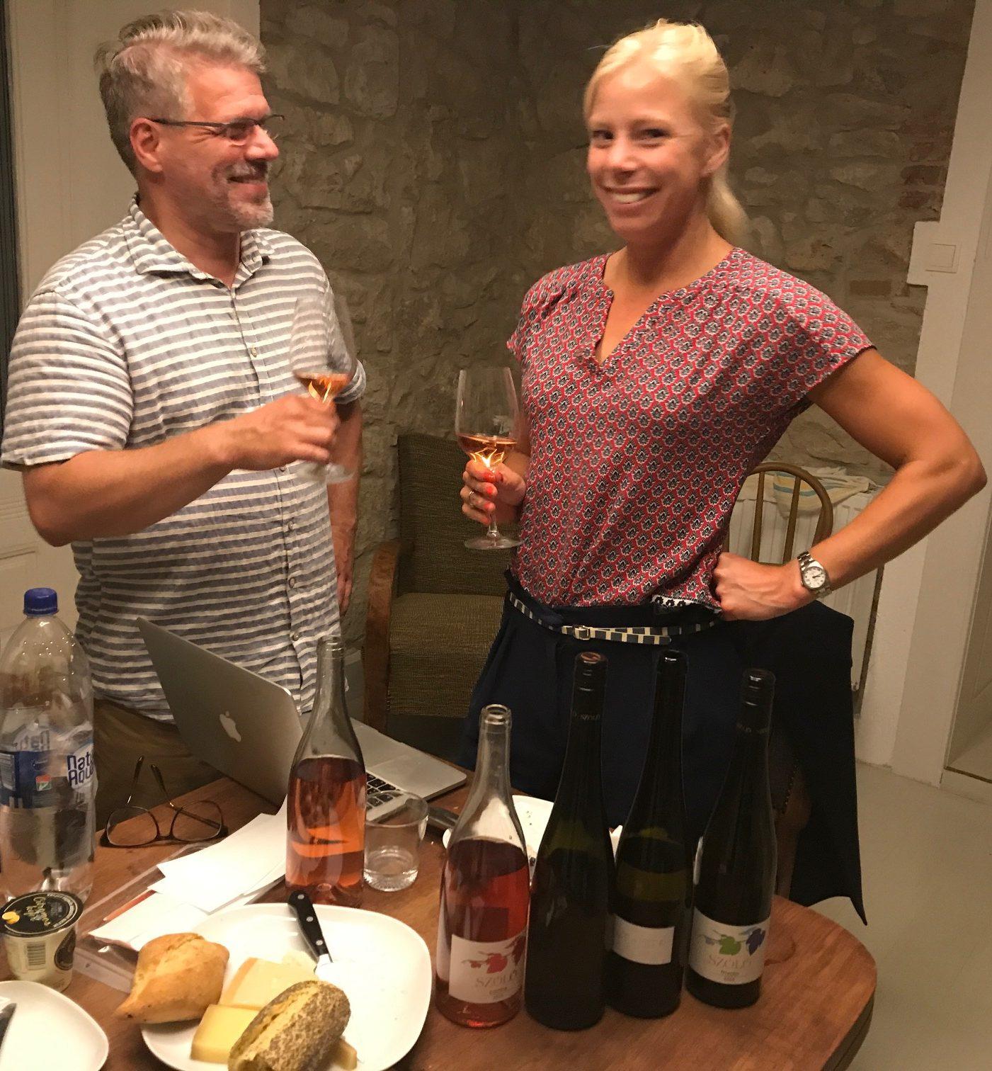 Tállya hos Szóló winery, Tokaji