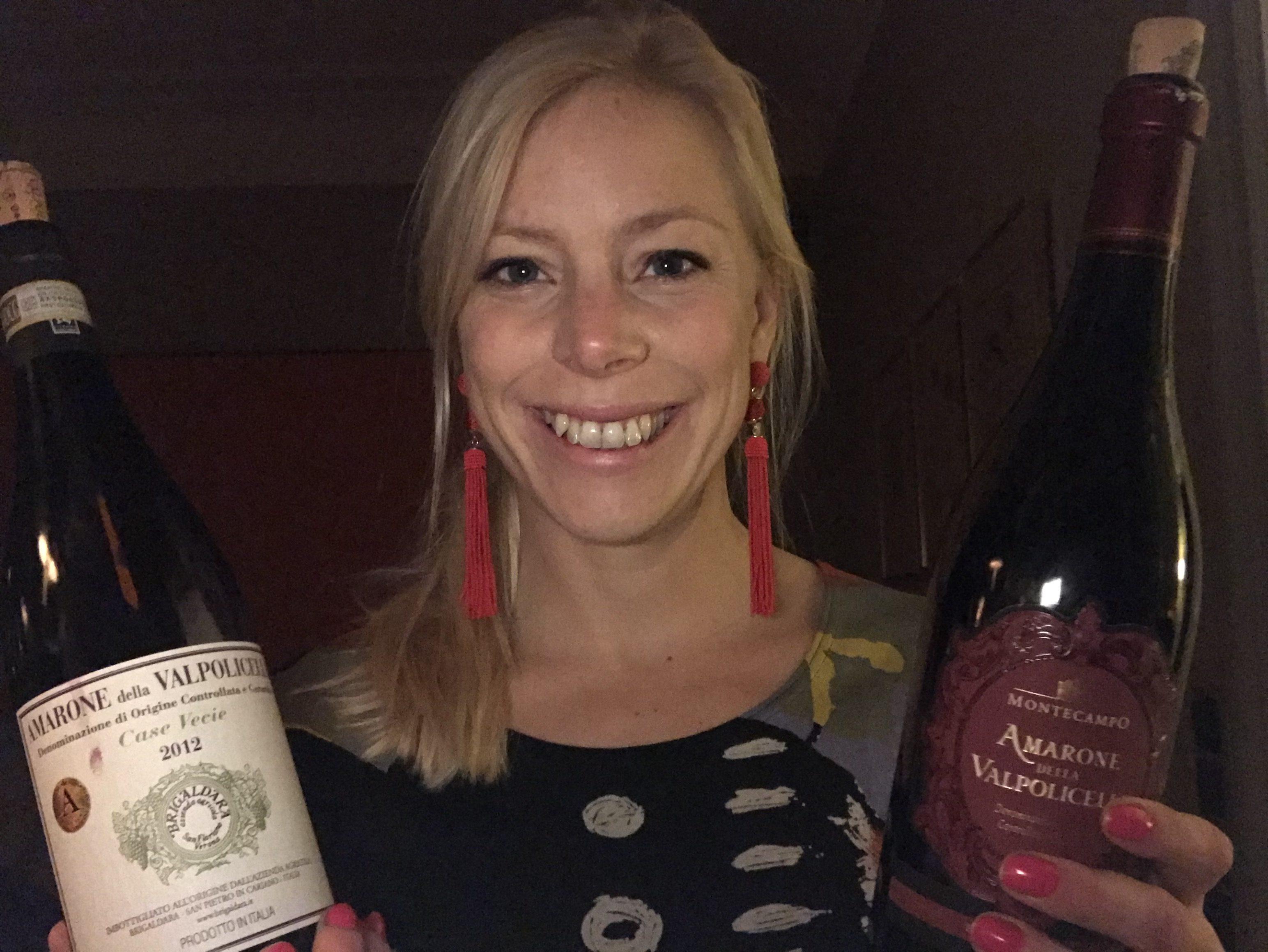 Amarone de la Valopolicella med vinsider